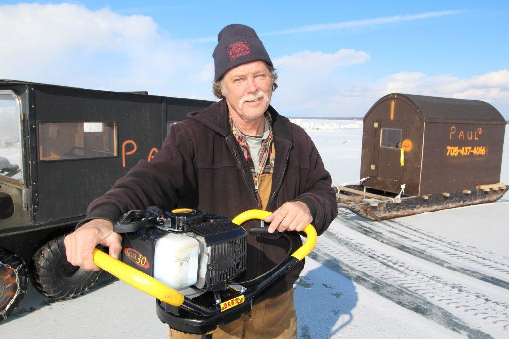 Ice Hut Operator Paul Giles